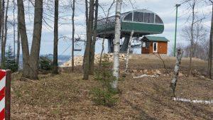 Granite Peak Cycling -- Ski Lift Unloading Area