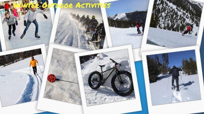 outdoor activities collage. Unique Outdoor Winter Outdoor Activities  A Collage Throughout Collage T