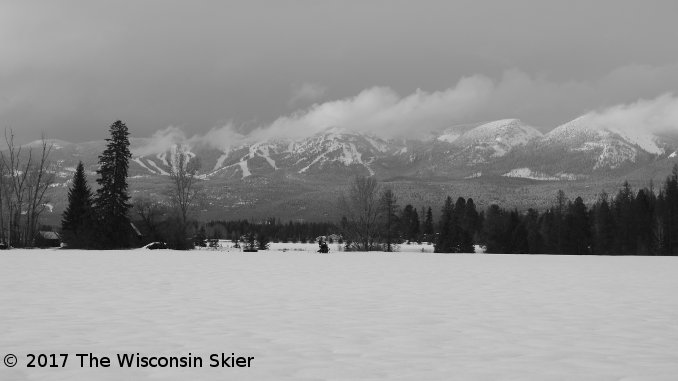 whitefish skiing review -- image of WMR from US HWY 2